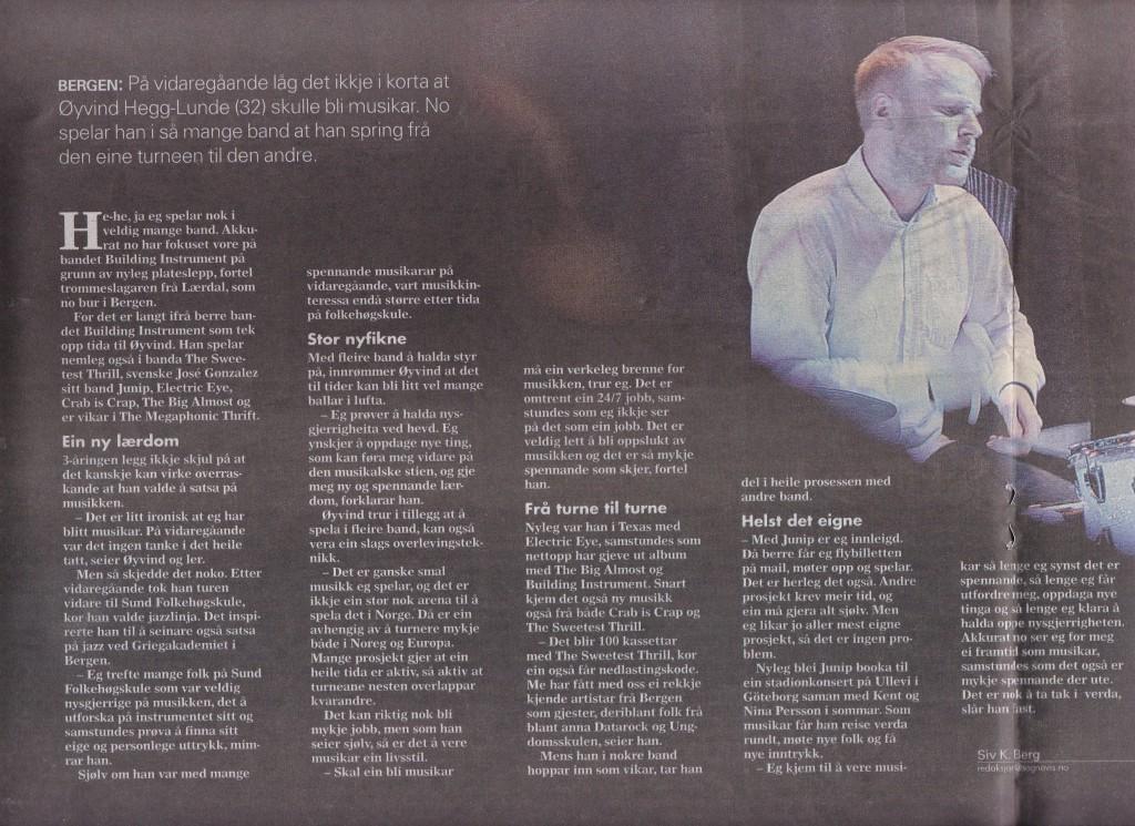 Interview - Øyvind